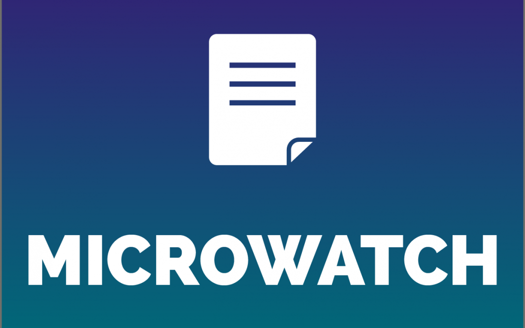 MicroWatch Issue 58