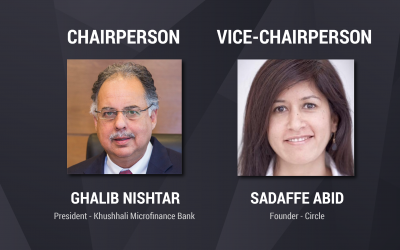 Mr. Ghalib Nishtar and Ms. Sadaffe Abid elected as new Chairperson and Vice-Chairperson of the PMN Board